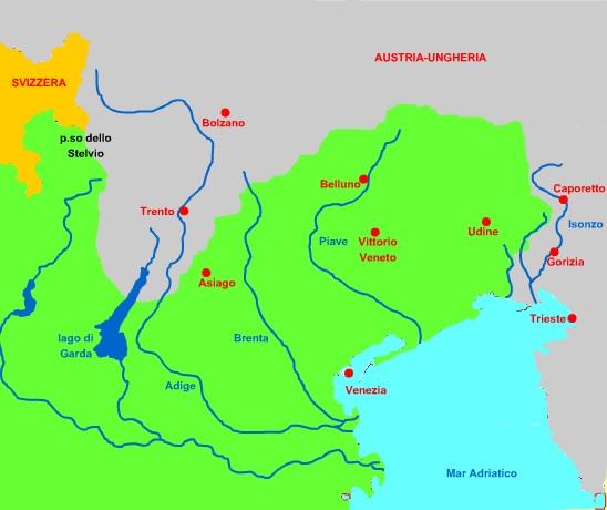 Cartina Muta Germania Con Fiumi.Prima Guerra Mondiale