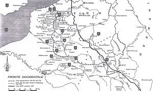 Cartina Storica Prima Guerra Mondiale.Prima Guerra Mondiale